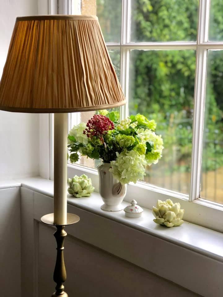 キャンドルと花瓶