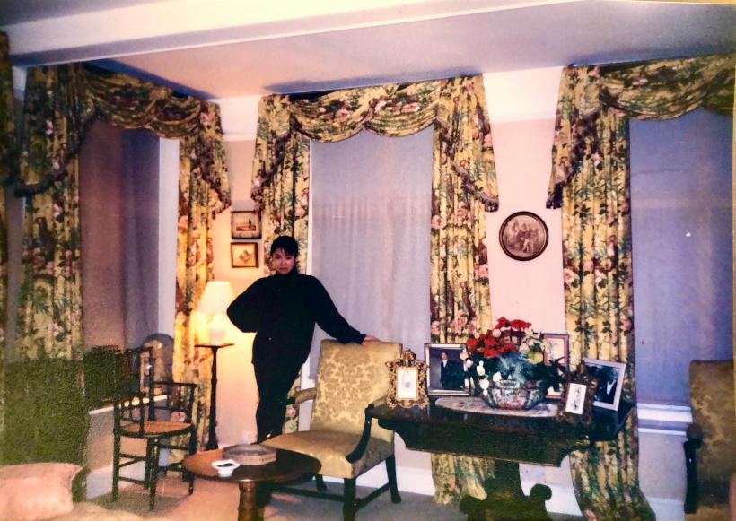ホームステイ当時の英国マナーハウス
