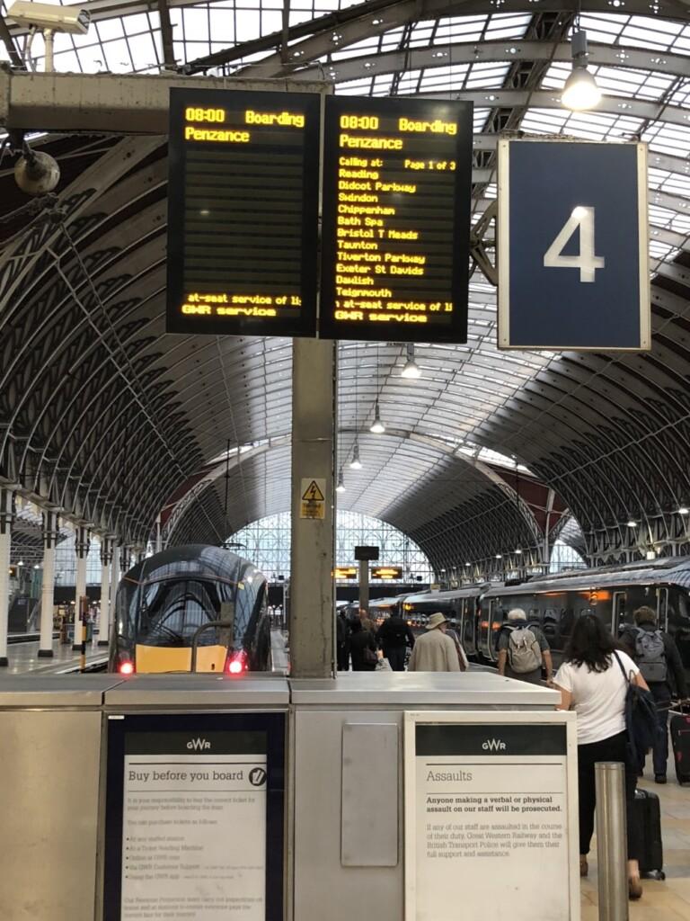 ロンドンパディントン駅