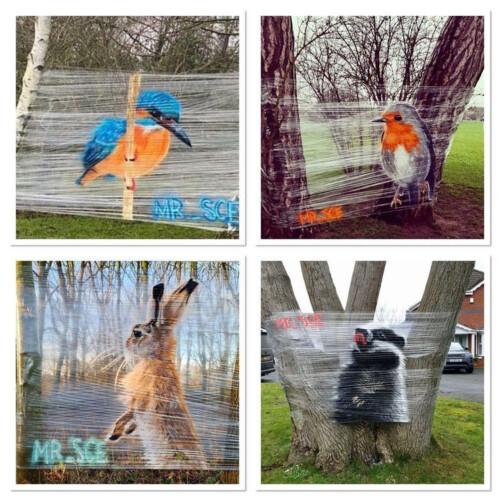 コッツウォルズ地方のアーティストが描く動物たち