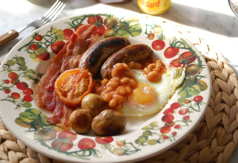 イギリスの朝食「イングリッシュブレックファースト」