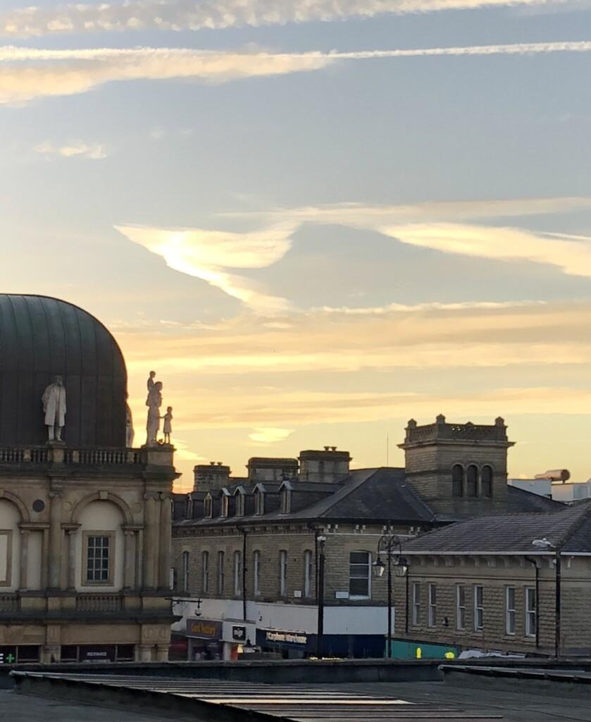 Harrogateの美しい駅舎