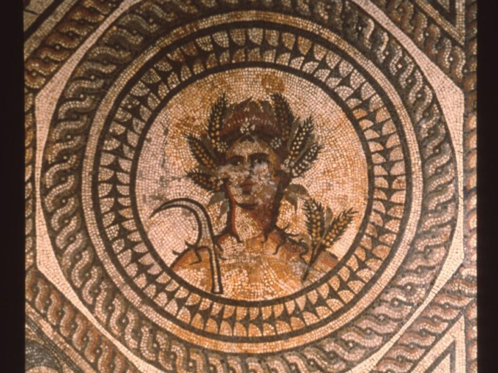 ローマ時代のモザイク