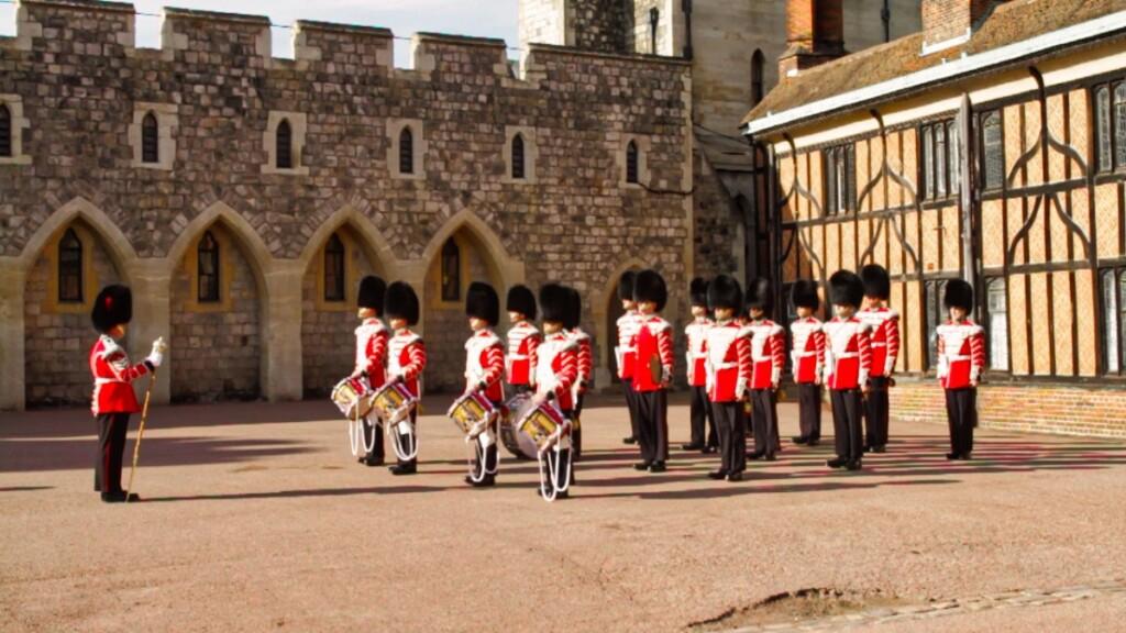 ウィンザー城の衛兵