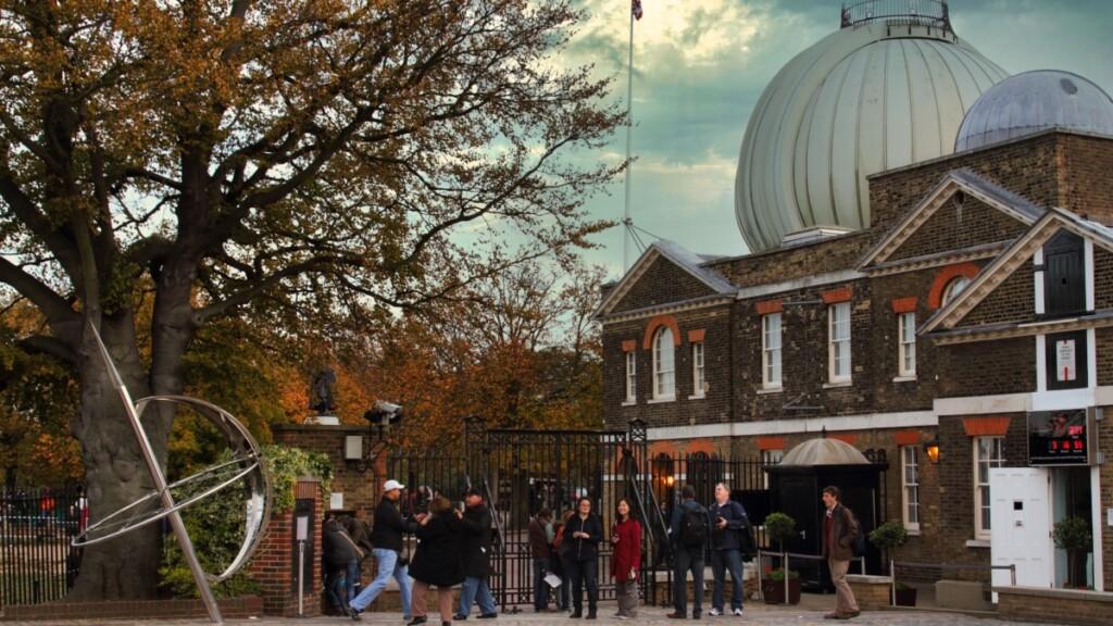 グリニッジ王立天文台の入り口