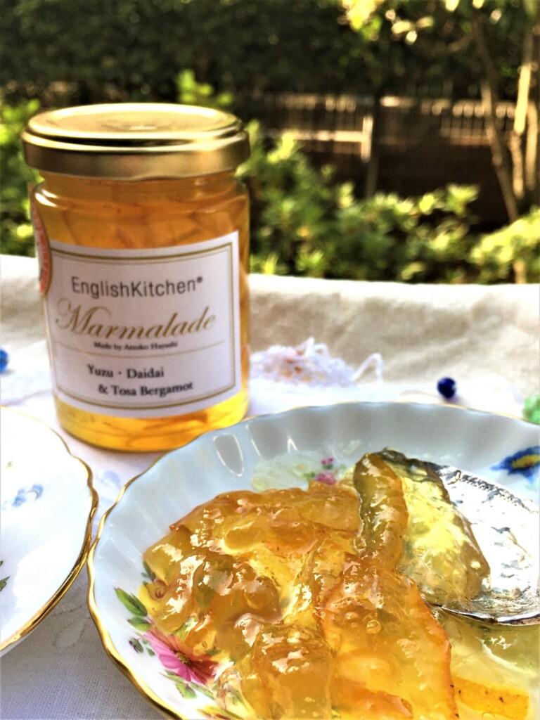 イングリッシュキッチンのマーマレード「ゆず&橙&土佐ベルガモット」