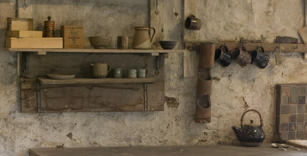 リーチ工房(Leach Pottery)の内部
