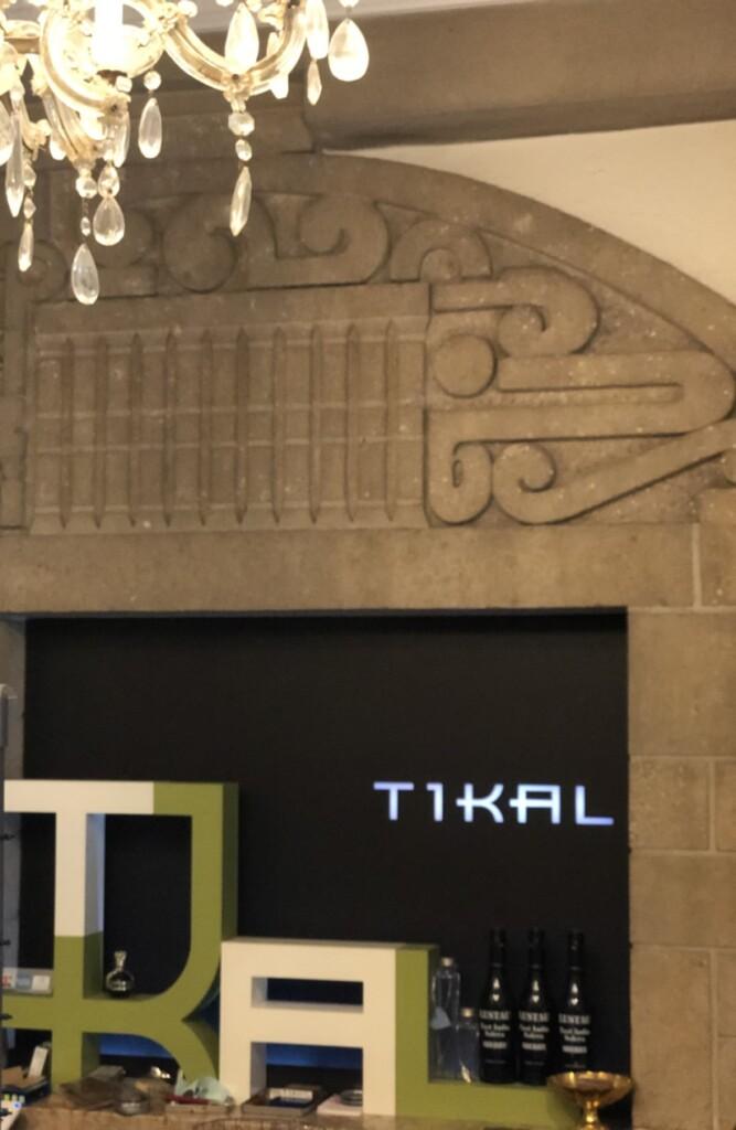 TIKALのディスプレイ