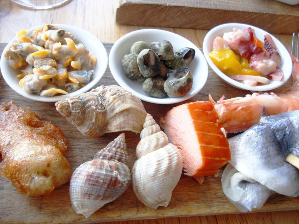ウィスタブルで取れる魚介類