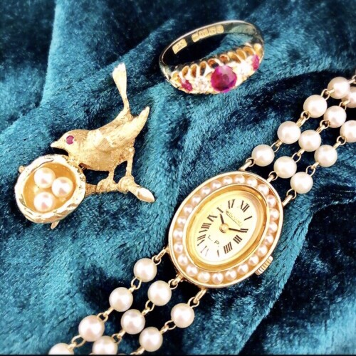 エデンのアンティークジュエリーと時計