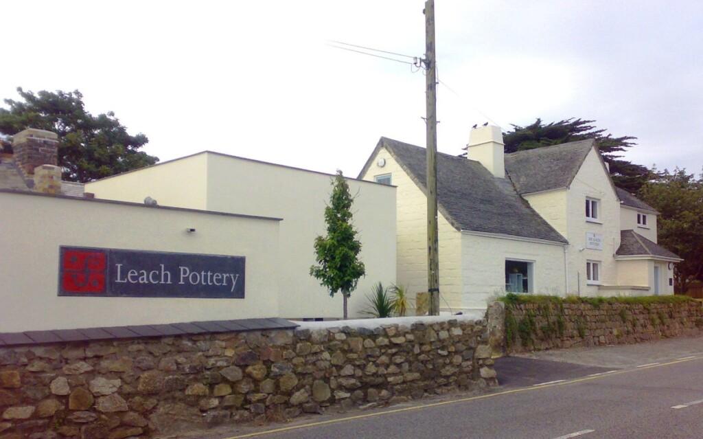 リーチ工房(Leach Pottery)の外観