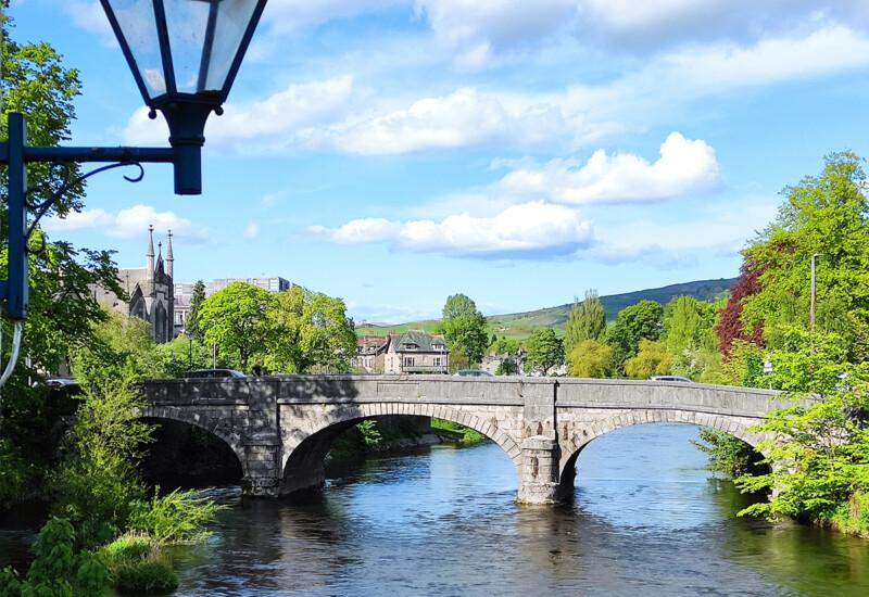 ケント川に架かるミラー橋