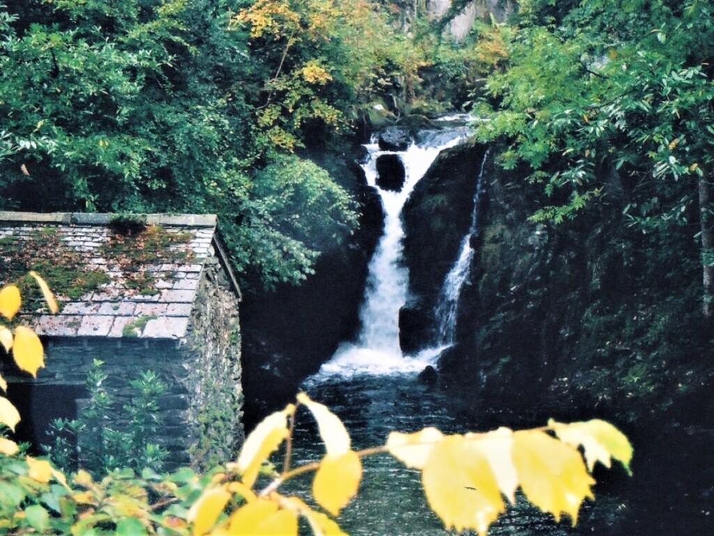 滝とグロット