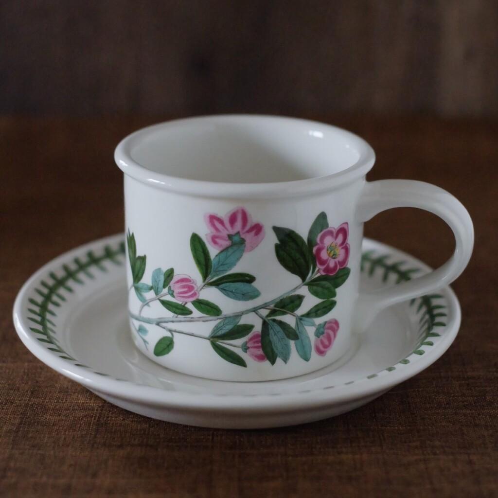 ポートメリオン ボタニックガーデン Rhododendron(シャクナゲ)カップ&ソーサー