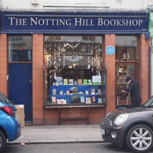 ノッティングヒルのブックショップ