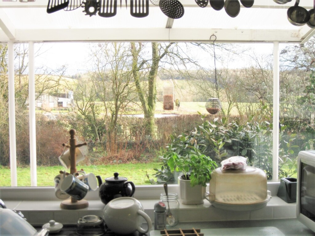 メアリーのキッチンから眺める風景