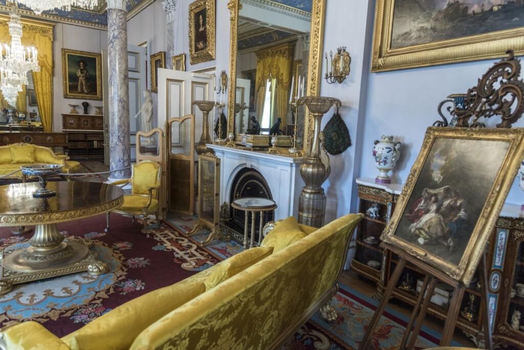 オズボーンハウスの内部