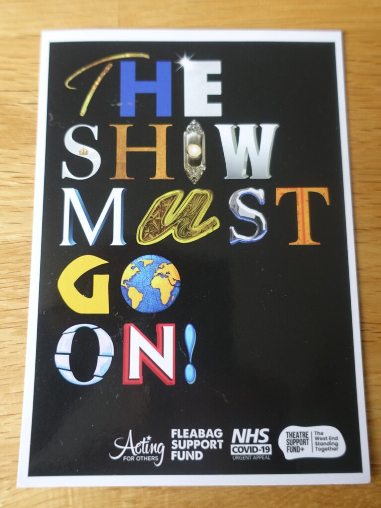 『The Show Must Go On』チャリティのロゴ