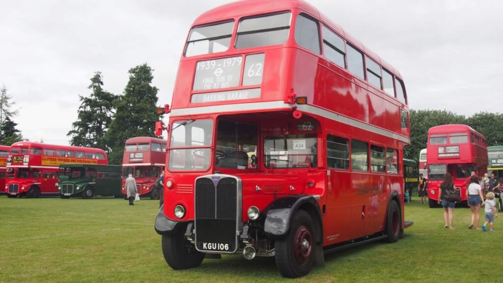 1939年〜1979年までロンドン市内を走行していたバス