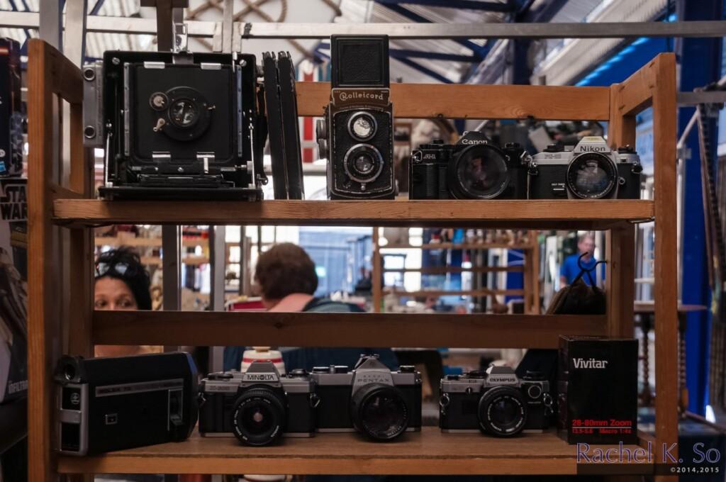 ビンテージもののカメラ
