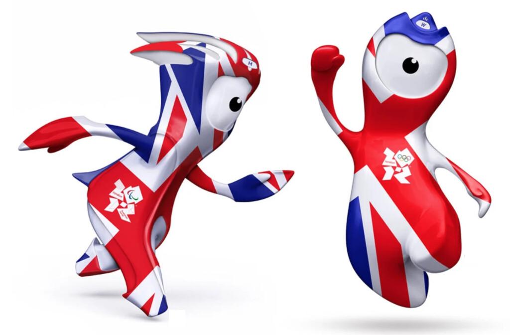 ロンドンオリンピックのマスコット