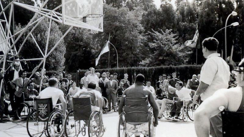1960年のパラリンピック バスケットボール競技