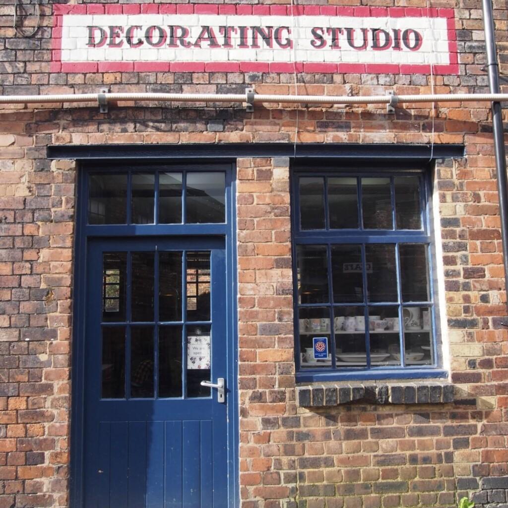 Decorating Studioの入り口