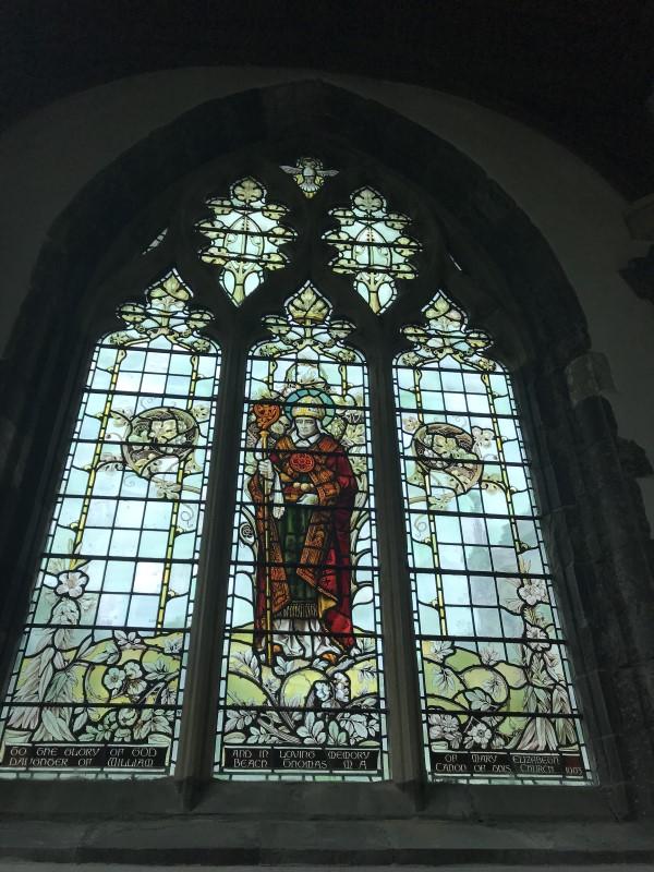 セント・ディビッズ大聖堂のステンドグラス