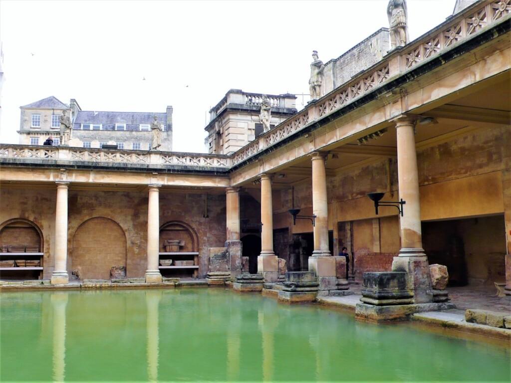 バースのローマ人が造った浴場