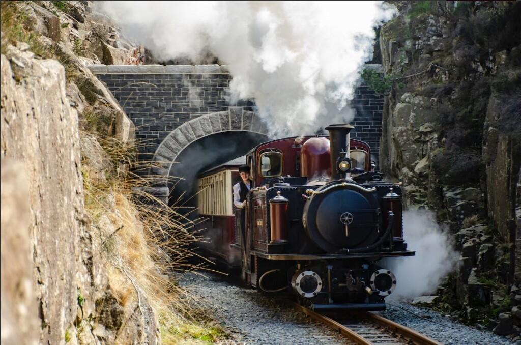 Ffestiniog Railway(フェスティニオグ鉄道)の蒸気機関車