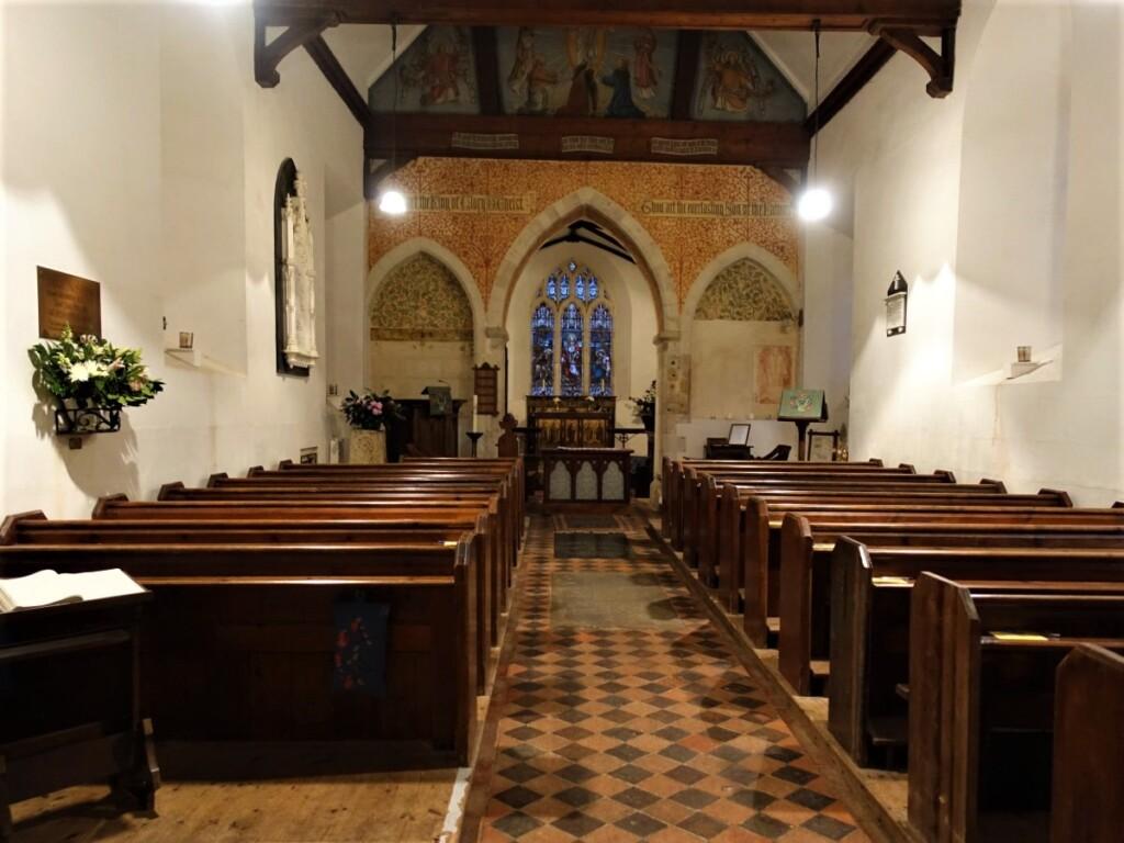 聖ニコラス教会の内部