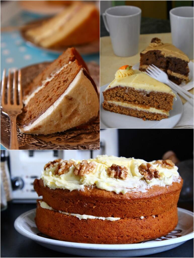 イギリスのキャロットケーキ