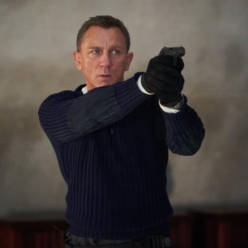 『007 ノー・タイム・トゥ・ダイ』のシーン