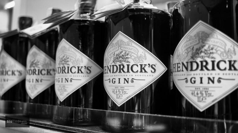 ヘンドリックスのボトル