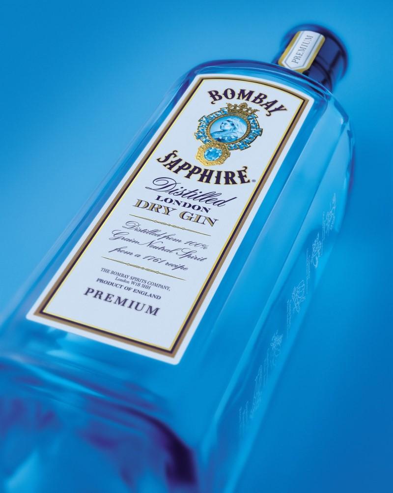 ボンベイ・サファイアのボトル