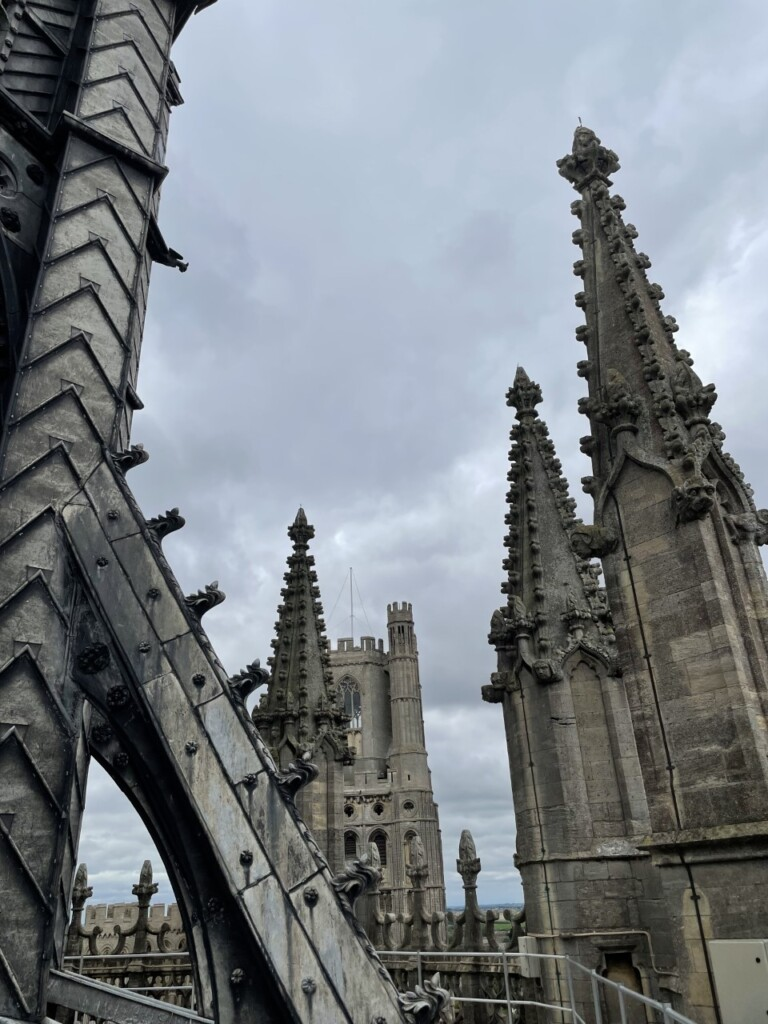イーリー大聖堂の頂上から眺める景色