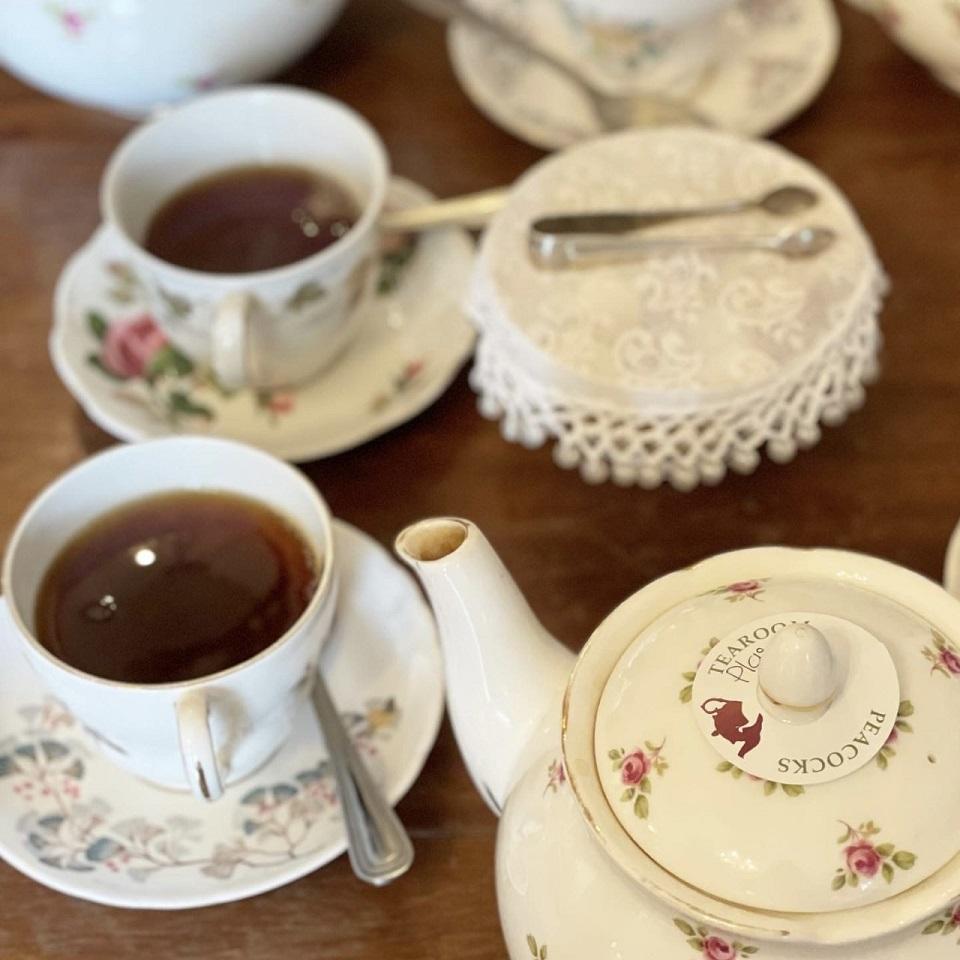 Peacocks Tearoomの紅茶