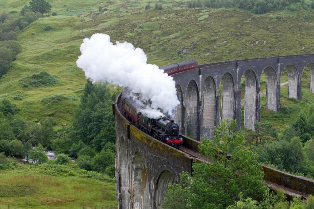 蒸気機関車ジャコバイト号