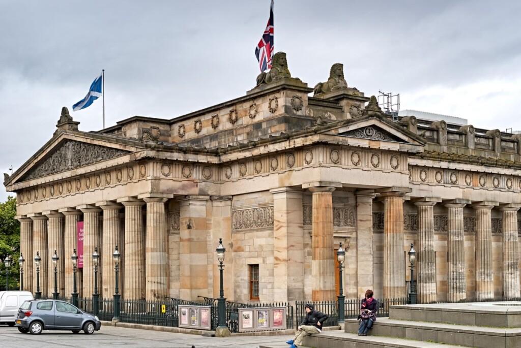 スコットランド国立美術館の外観