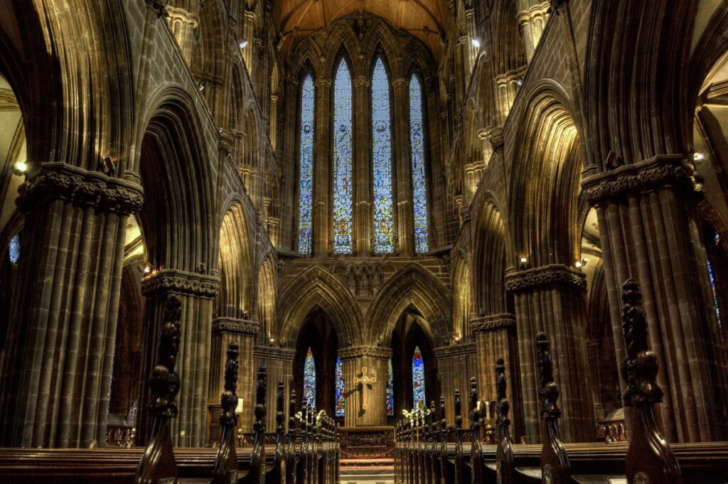グラスゴー大聖堂の内部