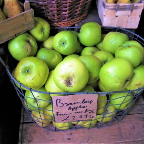 イギリスで販売されているブラムリーアップル